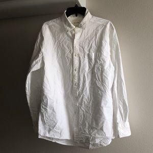 Billy Reid White button up shirt